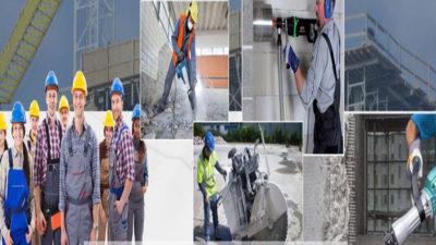 Công ty khoan cắt bê tông Hùng Vỹ - Thi công siêu nhanh an toàn