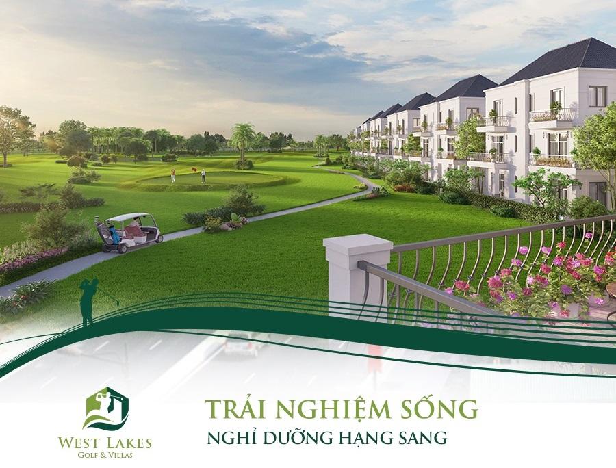 Dự án West Lakes Golf & Villas đang bán những sản phẩm gì?