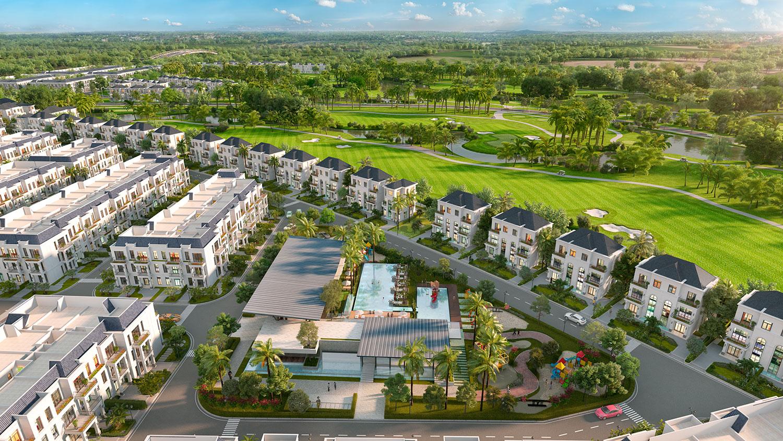 Mỏ vàng mới phía Tây Tphcm: Bất động sản nghỉ dưỡng kết hợp sân golf